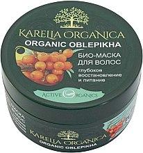 """Profumi e cosmetici Bio-maschera per capelli """"Organic Oblepikha"""" ripristino profondo e nutrizione - Fratty NV Karelia Organica"""