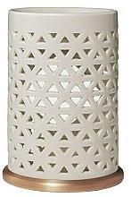 Profumi e cosmetici Lampada aromatica in ceramica - Yankee Candle Belmont Punched Ceramic Wax Melt Burner