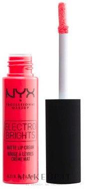 Rossetto liquido opaco - NYX Professional Electro Brights Matte Lip Cream — foto Atlnta