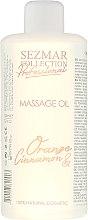 """Profumi e cosmetici Olio da massaggio """"Arancia e cannella"""" - Sezmar Collection Professional Body Mask Orange Cinnamon"""