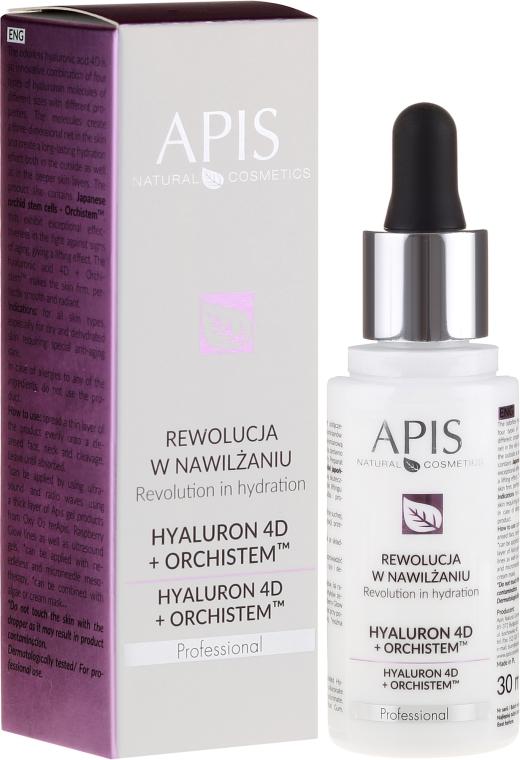 Siero viso - APIS Professional Hyaluron 4D + Orchistem