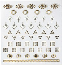 Profumi e cosmetici Adesivi per nail art - Peggy Sage DecorativeNail Stickers Jewels (pz)