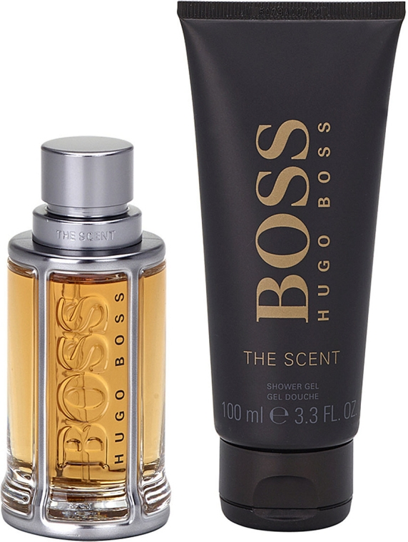 Hugo Boss The Scent - Set (edt/50ml + sh/gel/100ml) — foto N2