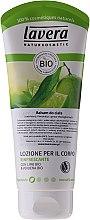 Profumi e cosmetici Lozione corpo rinfrescante - Lavera Organic Lime & Verbena Body Lotion