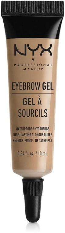 Gel per sopracciglia - NYX Professional Makeup Eyebrow Gel