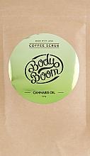 Profumi e cosmetici Scrub al caffè con olio di cannabis - BodyBoom Cannabis Oil Coffee Scrub