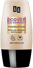 Profumi e cosmetici Fondotinta 2in1 - AA 2in1 Cover&Correct Foundation