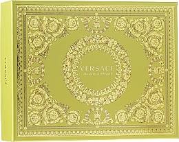 Profumi e cosmetici Versace Yellow Diamond - Set (edt/50ml + b/lot/50ml + sh/gel/50ml)