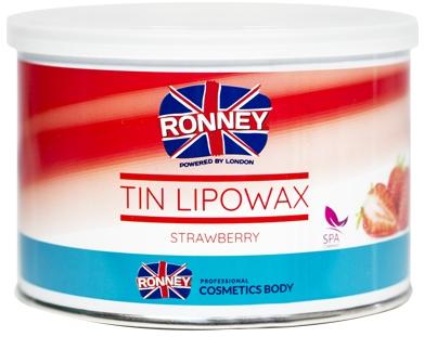 """Cera depilatoria """"Fragola"""" - Ronney Tin Lipowax Strawberry"""