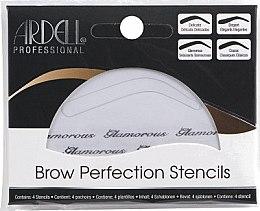 Profumi e cosmetici Set di stencil per sopracciglia - Ardell Brow Perfection Stencils