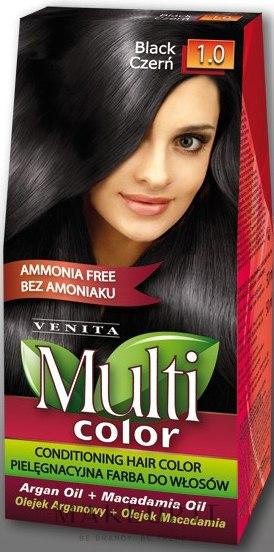 Tinta per capelli senza ammoniaca, con olio di argan e macadamia - Venita Multi Color — foto 1.0