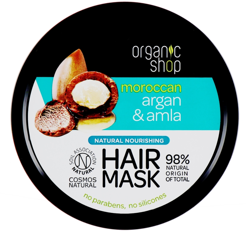Maschera capelli nutriente - Organic Shop Argan And Amla Hair Mask