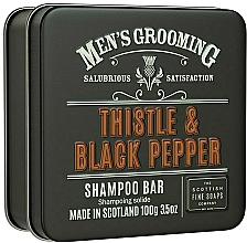 "Profumi e cosmetici Shampoo ""Cardo e pepe nero"" - Scottish Fine Soaps Mens Grooming Thistle & Black Pepper Shampoo Bar"
