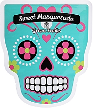 Profumi e cosmetici Maschera viso in tessuto - Dr Mola Sweet Masquarade Green Fruits mask