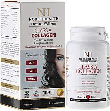 Profumi e cosmetici Compresse di collagene Classe A per viso, corpo e capelli - Noble Health Kolagen Class A