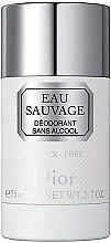 Profumi e cosmetici Dior Eau Sauvage - Deodorante stick