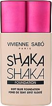 Profumi e cosmetici Fondotinta con effetto sfocato naturale - Vivienne Sabo Natural Cover Shaka Shaka Foundation (01)