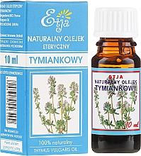 Profumi e cosmetici Olio essenziale naturale di timo - Etja Natural Essential Oil