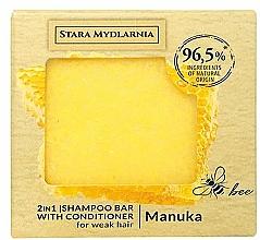 Profumi e cosmetici Shampoo-condizionante solido - Stara Mydlarnia Manuka Honey 2in1 Shampoo Bar