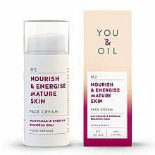 "Profumi e cosmetici Crema viso ""Nutrizione ed energia"" - You & Oil Nourish & Energise Mature Skin Face Cream"
