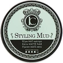 Profumi e cosmetici Argilla per capelli, fissazione forte, per uomo - Lavish Care Styling Mud Extra Matte Hold