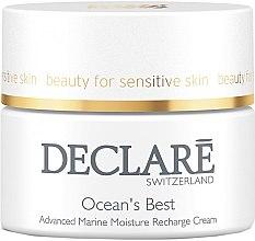 Profumi e cosmetici Crema viso idratante con minerali marini - Declare Ocean's Best Advanced Marine Moisture Recharge Cream