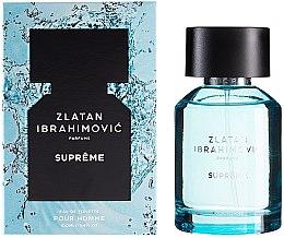 Profumi e cosmetici Zlatan Ibrahimovic Supreme Pour Homme - Eau de toilette
