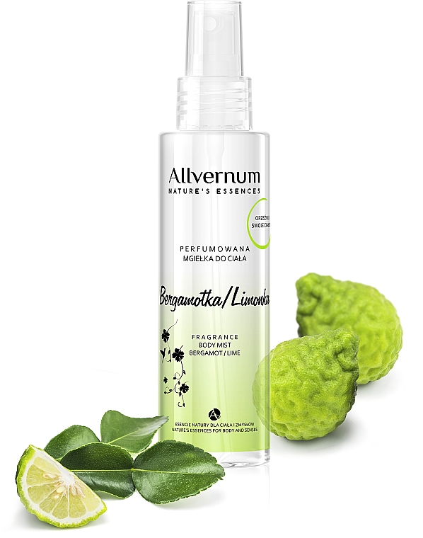 "Spray corpo profumato ""Bergamotto Lime"" - Allverne Nature's Essences Body Mist"