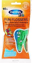 Profumi e cosmetici Forcelle interdentali per bambini, profumo di frutta - DenTek Kids Fruit Fun Flossers
