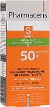 Profumi e cosmetici Crema solare anti-acne - Pharmaceris S Medi Acne Protect Cream SPF50