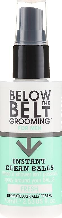 Spray rinfrescante per l'igiene intima - Below The Belt Grooming Instant Clean Balls Fresh