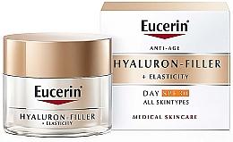 Profumi e cosmetici Crema antietà per tutti i tipi di pelle da giorno - Eucerin Anti-Age Elasticity+Filler Day Cream SPF 30