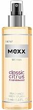 Profumi e cosmetici Mexx Woman Classic Citrus & Sandalwood Body Splash - Spray corpo