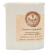 """Profumi e cosmetici Candela da massaggio """"Coffee fortificante"""" - Flagolie Coffee Firming Massage Candle"""
