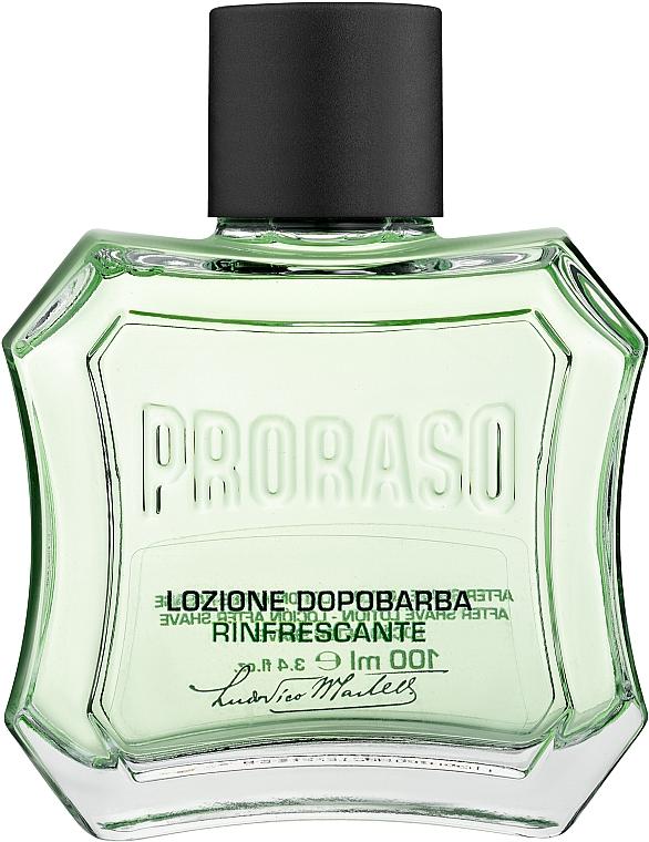 Lozione dopobarba con mentolo ed eucalipto - Proraso Green After Shave Lotion