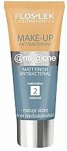 Profumi e cosmetici Crema opacizzante antibatterica - Floslek Anti Acne Make Up