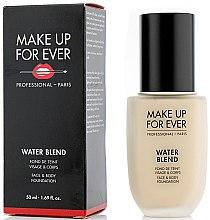 Profumi e cosmetici Fondotinta - Make Up For Ever Water Blend Foundation