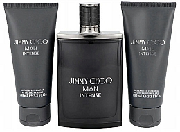 Profumi e cosmetici Jimmy Choo Man Intense Travel Set - Set (edt/100ml+ash/b/100ml+sh/gel/100ml)