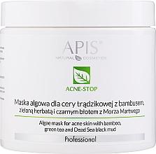 Profumi e cosmetici Maschera viso - APIS Professional Algae Mask For Acne Skin