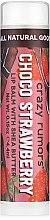 Profumi e cosmetici Balsamo per labbra - Crazy Rumors Chocolate Strawberry Lip Balm