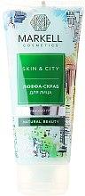 """Profumi e cosmetici Scrub viso """"Fungo di neve"""" - Markell Cosmetics Skin&City"""