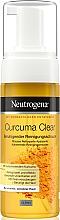 Profumi e cosmetici Schiuma detergente con estratto di curcuma - Neutrogena Curcuma Clear Mousse Clenser