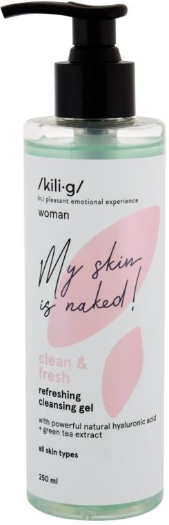 Gel detergente viso rinfrescante - Kili·g Woman Clean & Fresh Refreshing Cleansing Gel
