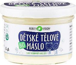 Profumi e cosmetici Olio di cocco per bambini - Purity Vision Bio Children´s Body Butter