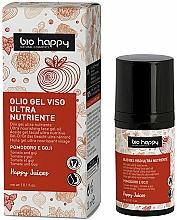 Profumi e cosmetici Gel viso con olio di pomodoro e bacche di goji - Bio Happy Face Gel Oiltomato And Goji Berry