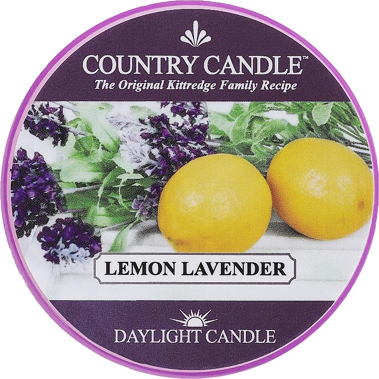 Candela profumata in vetro - Country Candle Lemon Lavender
