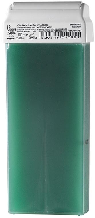 Cartuccia con cera per depilazione calda - Peggy Sage Cartridge Of Fat-Soluble Warm Depilatory Wax Vert