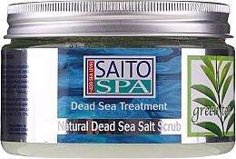 """Profumi e cosmetici Scrub corpo al sale """"Tè verde"""" - Saito Spa Aalt Body Scrub Green tea"""