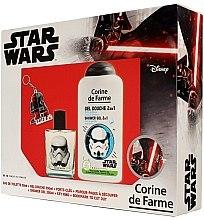 Profumi e cosmetici Corine de Farme Star Wars - Set (edt/50ml +sh/gel/250ml + accessories)