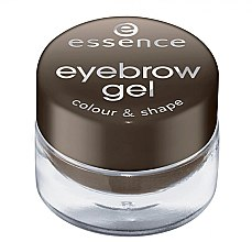 Profumi e cosmetici Gel sopracciglia - Essence Eyebrow Gel Colour & Shape
